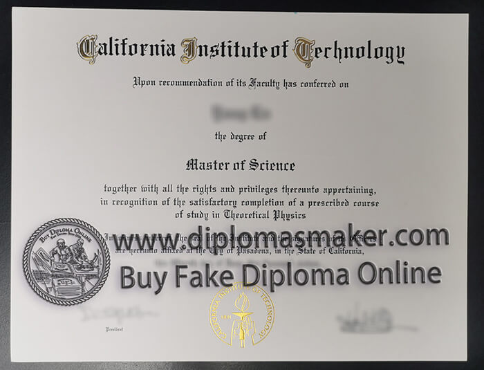 California Institute of Technology degree