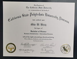 Quickest & Easiest Way To Buy Cal Poly Pomona/CPP Diploma.