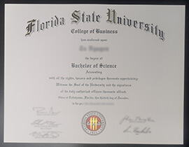 How to quickly order a Florida State University diploma