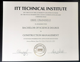 Where to buy ITT Technical Institute Certificate?