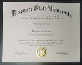 How to get Missouri State University fake diploma?