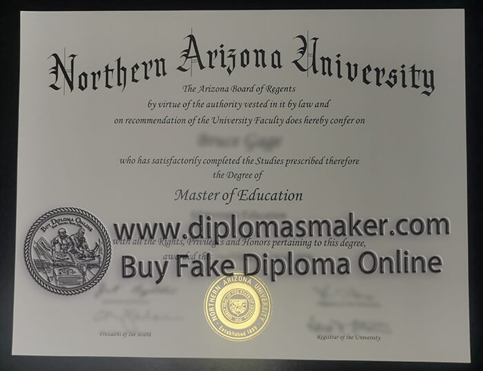 Buy Northern Arizona University diploma