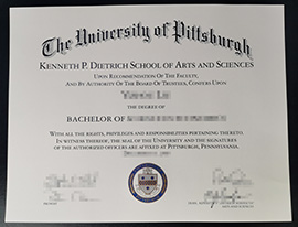 Where to buy University of Pittsburgh diploma?