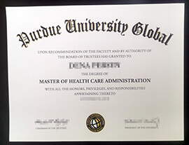 Get a professional Purdue University Global diploma at cheap cost.