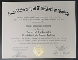Order a University at Buffalo Fake Degree Certificate