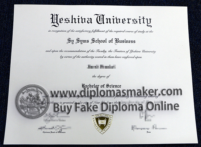 Yeshiva University degree