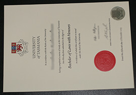 Where to buy University of Tasmania fake diploma