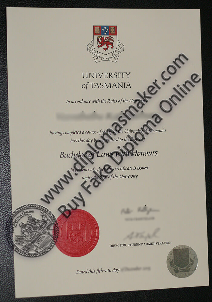 buy University of Tasmania degree