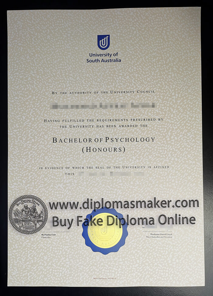 buy fake University of South Australia diploma