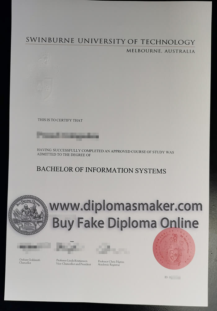 buy fake Swinburne University of Technology degree