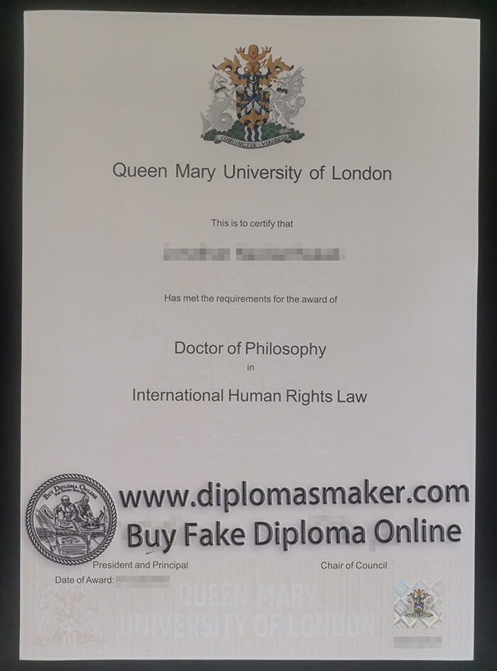 buy Queen Mary University of London degree