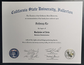 Buy California State University Fullerton diploma, buy CSUF fake degree