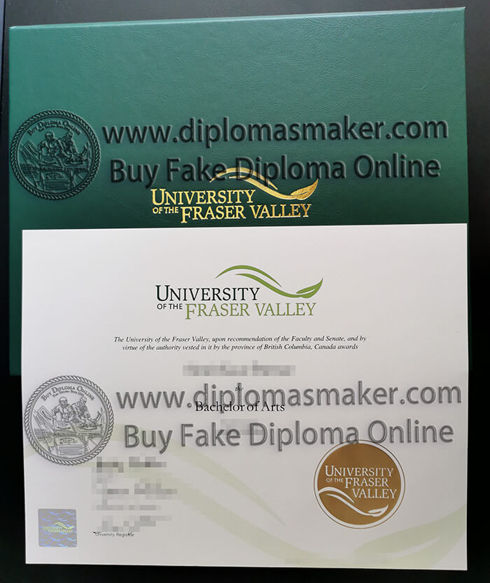 buy University of the Fraser Valley degree