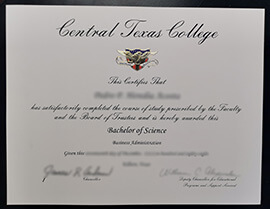 How to buy Central Texas College diploma? CTC fake degree.
