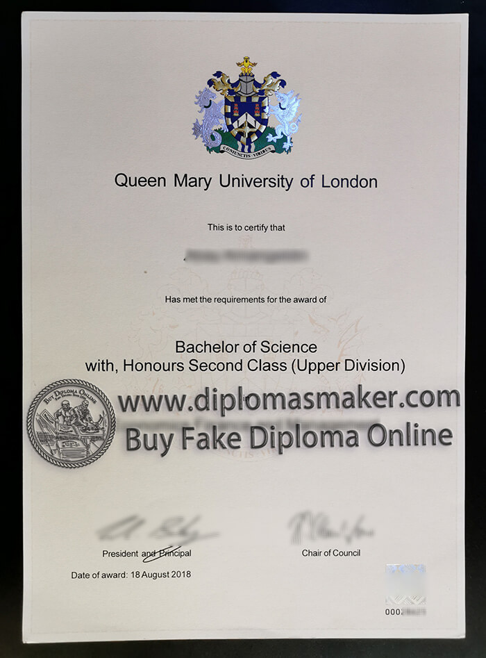 How to buy Queen Mary University of London fake degree?