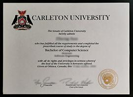 Buy Carleton University fake diploma online, buy fake degree in Canada.