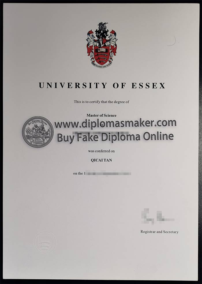 Accounting and Finance Degree from University of Essex