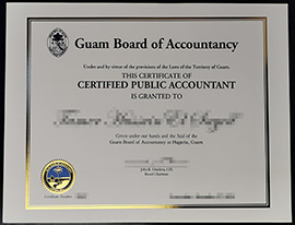 Buy fake Guam Board of Accountancy CPA Certificate,buy CPA Certificate