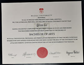 How to buy McGill university fake diploma certificate