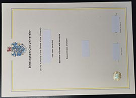 buy Forgery Birmingham city university certificate-BCU diploma
