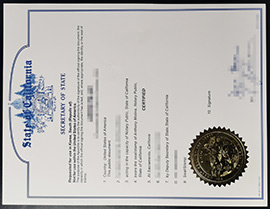 How To Buy A Fake Degree With California State Apostille