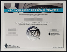 Where can I buy fake NSCA CSCS certificates?