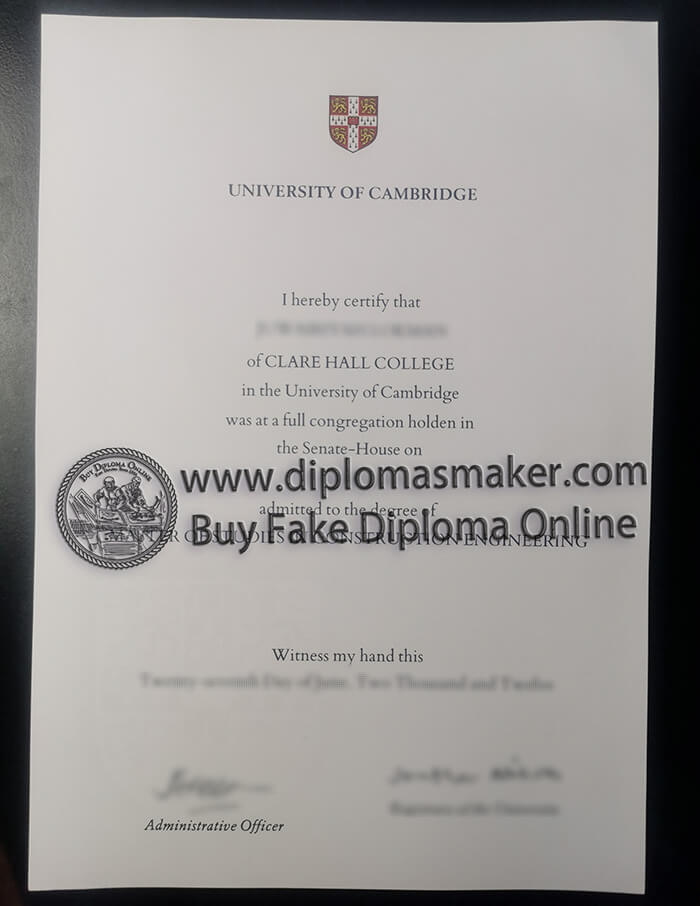 buy University of Cambridge diploma