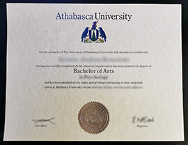 Order Athabasca University Diploma online