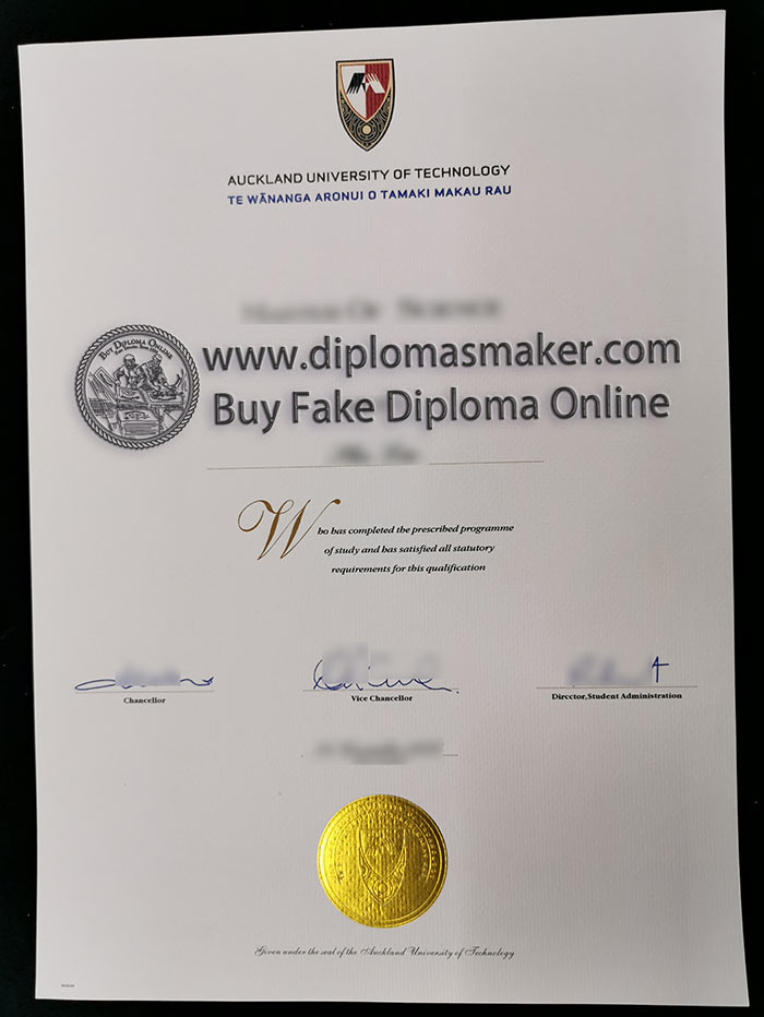 Buy A Fake Auckland University Of Technology Degree Certificate Online
