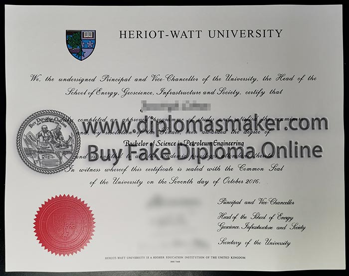 Where To Get Fake Heriot-Watt University Degrees Online?