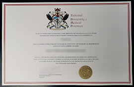 NUMS Diploma-National university medical sciences fake diploma certificate