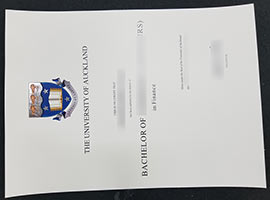 Buy The University Of Auckland Fake Degree Certificate-UOA Diploma Sample