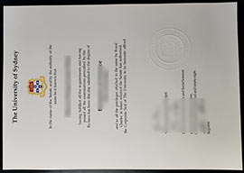 USYD fake diploma-The University of Sydney bachelor degree sample