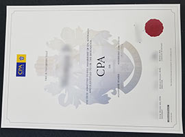 CPA Diploma Certificate-How To get a fake CPA Australia certificate