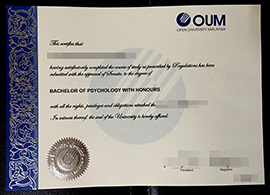 OUM degree, Buy Open University Malaysia diploma online