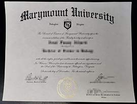 Buy Marymount University Fake Diploma Online