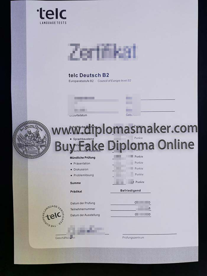 How Can I Buy A Fake telc Certificate -TELC Certificate Online?