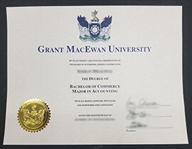 Buy Grant MacEwan University fake diploma, buy fake degree from Canada