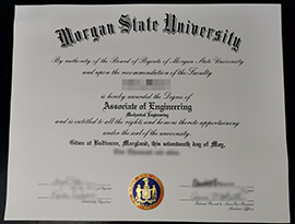 Morgan State University diploma, buy MSU fake degree online