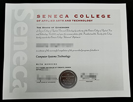 Seneca College of Applied Arts and Technology diploma