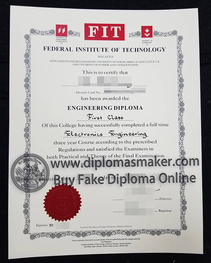 Federal Institute of Technology diploma