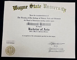 Do You Search for Wayne State University diploma? Buy WSU Degree