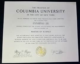 How to quickly buy Columbia University diploma?