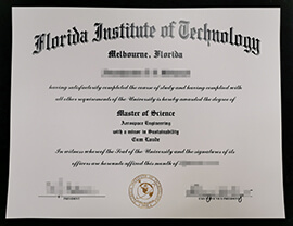 Purchase Florida Institute of Technology Diploma, Buy FIT Degree