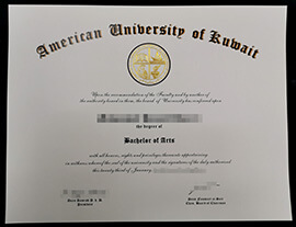 American University of Kuwait Diploma, Buy AUK Degree