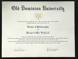 How to Buy Old Dominion University Diploma? ODU degree
