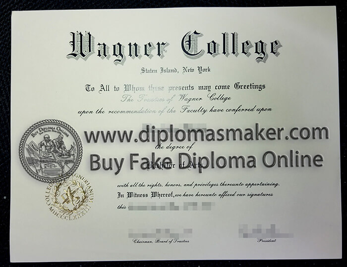 Buy Wagner College diploma
