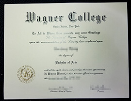 How to buy Wagner College fake diploma?