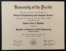 Are you thinking to buy University of the Pacific fake diploma?