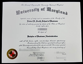 Buy a University of Maryland diploma online